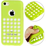 iPhone 5C Case Etui Coque en gel silicone souple Housse Apple - VERT -