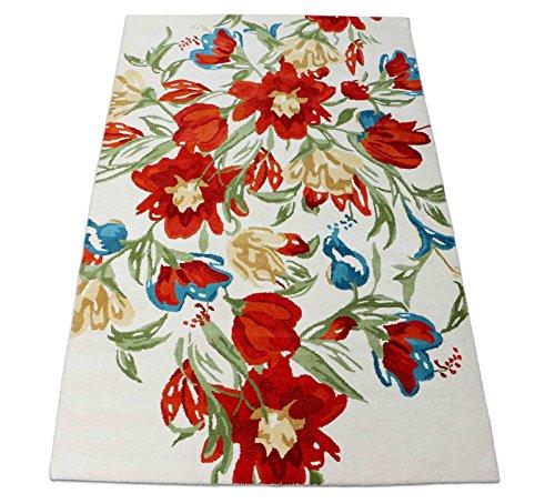 5x 8Modern Floral Teppich Wolle Handarbeit Traditionelle Persische Orient Teppich & Teppich