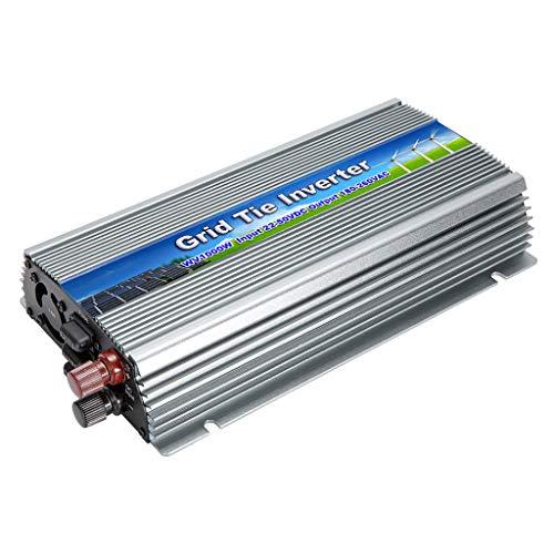 Baoblaze Grid Tie Invertitore 1000W Impilabile DC 22-50V AC 180-260V MPPT Per Pannello Solare