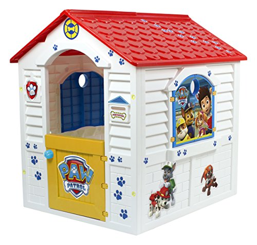 Paw Patrol - Casita, color rojo y...