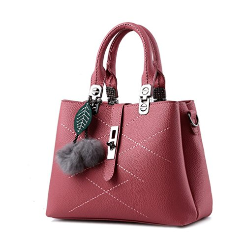 XibeiTrade - Borsa Ragazza donna Wine Red