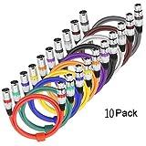 LoongGate - Cable de conexión equilibrado para micrófono – alta calidad y claridad de sonido...