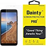 Dainty Tempered Glass Screen Guard Gorilla Protector for Mi Redmi 7a with Easy Installation Kit (Full Screen Coverage Except Edges - 11D Original Temper) (Transparent) (Pack of 1)