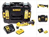 Dewalt DCD 740 D1 Akku Winkelbohrmaschine 18V 33Nm + 1x Akku 2,0Ah + Schnellladegerät + TSTAK