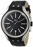 Swatch Go Cycle Black Dial Black Rubber ...
