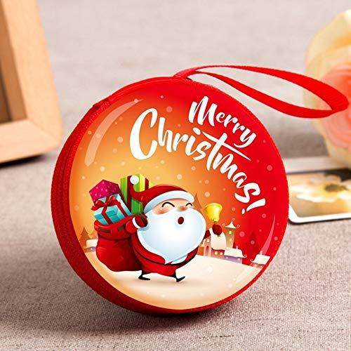 Fygrend - Mini Tin Box verschlossenes Glas Kleine Lager Dosen Barock für Kid Verpackung Weihnachtspralinenschachtel Weihnachts Münze Ohrringe Kopfhörer Geschenkbox [B10]