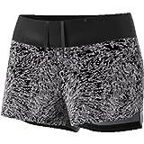 adidas Damen Supernova Glide Print Shorts, Black, M