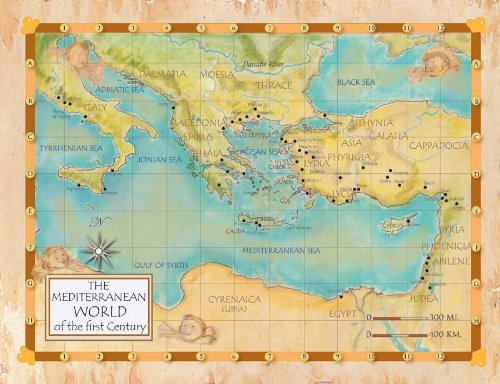 The Mediterranean World of the First Century (Laminated Teaching Poster) by Anne Payne-Krzyzanowski (2001-01-01)