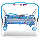 #6: Akshat New And stylish Cradle For Kids Attractive Color And Wheel Supported cradle swing for baby cradle hanging toys cradle and rocker