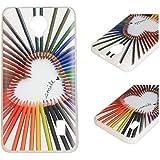 Para Huawei Ascend Y635 (5 pulgadas) Cáscara ZeWoo® Carcasa y Funda de Silicona - YG011 / Smile