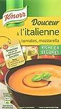 Knorr Les Classiques Soupe Liquide Douceur Tomates Mozzarella 1L