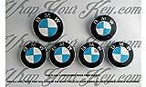 WeiàŸ & Hellblau M Sport Badge Emblem Overlay puze Trunk Felgen passend für alle X Drive
