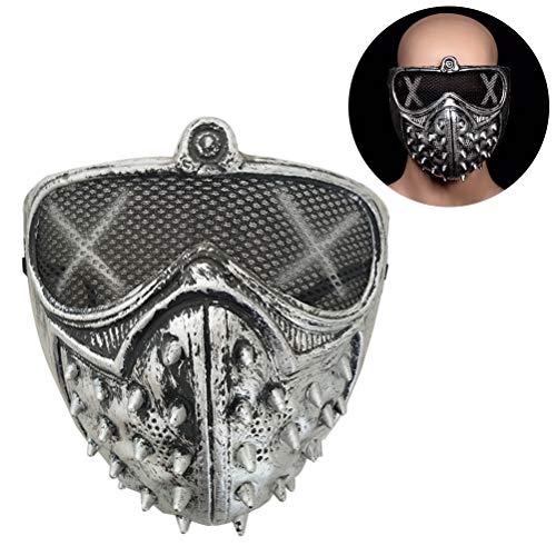 Halloween Kostüm Daft Punk - WINBST Halloween Scary Maske Pest-Maske Doktor Arzt Kopfmaske Party Fasching Cosplay Venedig-Maske Karneval Punk Leder Maske