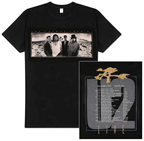 U2 Joshua Tree European Tour T-Shirt X-Large