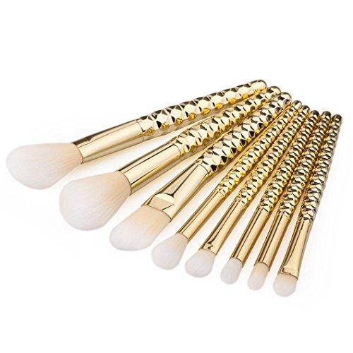 kingko® 8PCS / set brosse cosmétiques pinceau de maquillage Pinceau fard à paupières