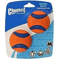 Chuckit! Ultra Balls dog toy balls, fits regular launcher, size M, 2 pcs.