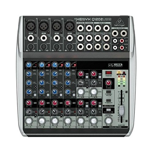 Behringer Xenyx Q1202 USB Mixer  available at amazon for Rs.16050