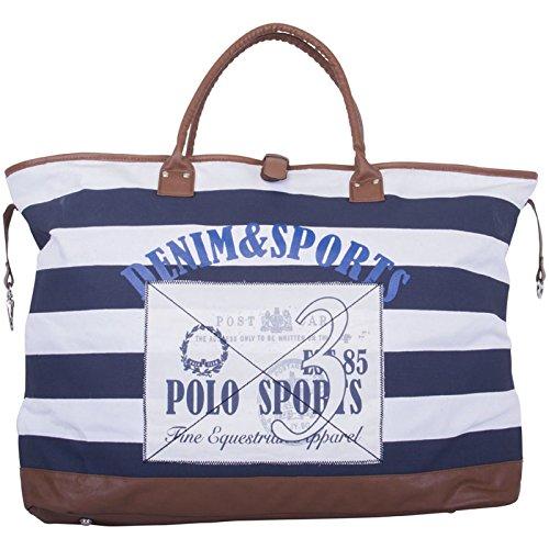 HV Polo Society Canvas Bag Tasche Kendall Navy