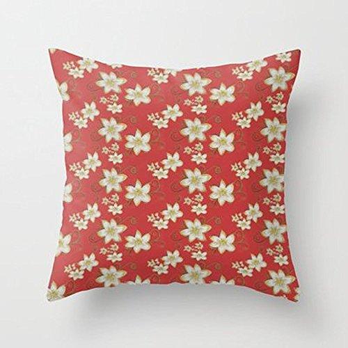 NEW luglio fiori federa Copri Cuscino Decorazione Casa