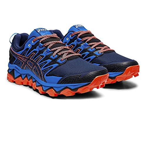Asics Gel-Fujitrabuco 7, Zapatillas de Entrenamiento para Hombre, Azul Expanse/Electric Blue 400, 46 EU