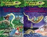 Das magische Baumhaus: 2 Sammelbände inkl. Hörbuch-CD von Mary Pope Osborne (1. Die geheimnisvolle Welt von Merlin + 2. Zauberreise in verwunschene Welten) - enhalten die Einzelbände 27, 28, 29, 30, 31, 32, 33, 34