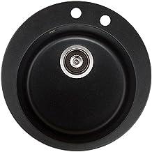 Spülbecken granit rund  Suchergebnis auf Amazon.de für: spüle schwarz rund