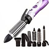 BeautySu Fer à friser/lisser 5en 1multifonctionnel pour les cheveux