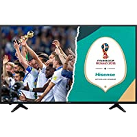 HISENSE H32AE5500 TV LED HD, Natural Colour Enhancer, Quad Core, Smart TV VIDAA U, Crystal Clear Sound 12W, Tuner DVB-T2/S2 HEVC, Wi-Fi prezzi su tvhomecinemaprezzi.eu