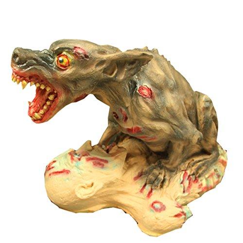 Nihiug Halloween Haunted House Requisiten Horror Geister Big Ghosts Leichen Wölfe Pest Doctor Mould Halloween Maske,A