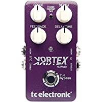 TC Electronic VORTEX FLANGER - Pedal de chorus, compatible con Tone Print