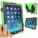 Coque Protection Robuste Antichoc Robuste pour téléphones et tablettes - Vert, Apple iPad Air