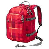 Jack Wolfskin Kids Packs Rucksack Berkeley S 7941 indian red woven check