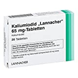 KALIUMIODID Lannacher 65 mg Tabletten 20 St Tabletten