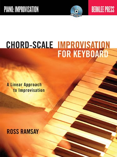 Chord-scale improvisation for keyboard clavier+CD