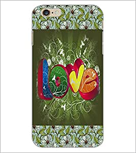 PrintDhaba Fantasy Girl D-5690 Back Case Cover for APPLE IPHONE 6S PLUS (Multi-Coloured)