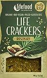 lifefood Life Crackers Rosmarin, 2er Pack (2 x 90 g)