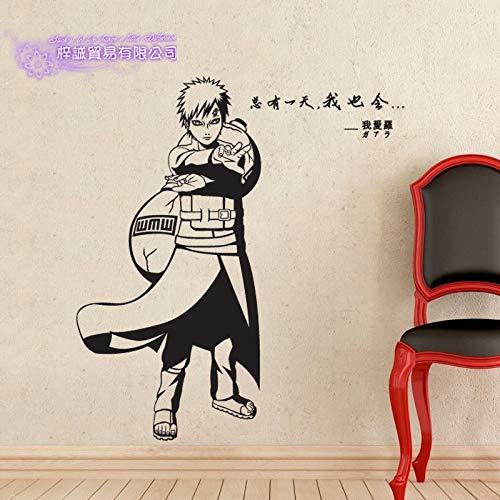 yaonuli Japanische Karikatur Auto Aufkleber Applique Poster Vinyl Wand Applique dekorative wandaufkleber 104X205 cm