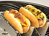 Moesta-BBQ DoggieRoast - der Hotdog Röster (2er Set) sloppy joe hot dog-51Zvv 2BXQ3sL-Sloppy Joe Hot Dog mit Hackfleisch- und Käsesauce