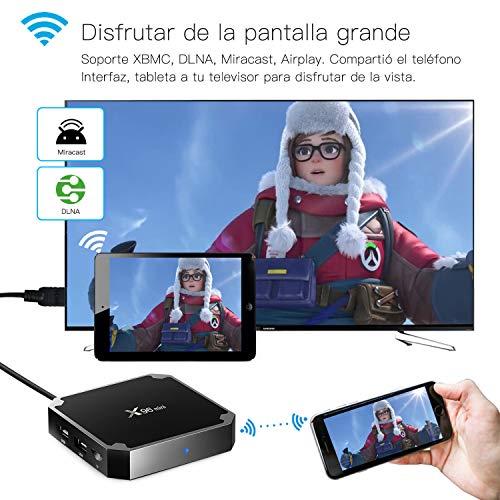 Android 7.1 RAM 2G+16G ROM TV Box X96 Mini Amlogic S905W Quad Core,  4K Ultra HD H.265, HDMI,  WiFi Media Player Smart TV Box by Puersit (2G+16G)