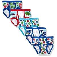 PJ Masks Little Boys' 5-Pack Brief Underwear, PJ Mask Boy-Multi, 4