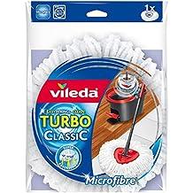 Vileda Easy Wring & Clean - Recambio de microfibra para fregona - [pack de 2]