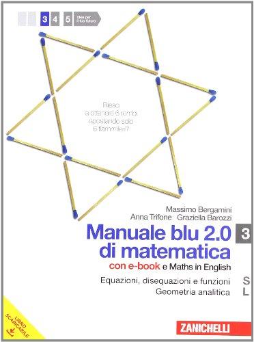 Manuale blu 2.0 di matematica. Con espansione online. Per le Scuole superiori. Con DVD-ROM: 1