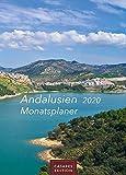 Andalusien Monatsplaner 2020 30x42cm - Heinz-Werner Schawe