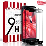 Aonsen Samsung Galaxy S7 Panzerglas Schutzfolie [Blasenfreie] [2 Stück] [Nicht Panzerglas Folie], Galaxy S7 HD Displayschutzfolie Folie Panzerglas Schutzfolie - Schwarz