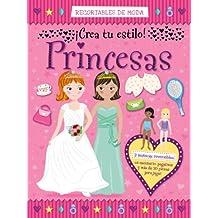 Recortables De Moda. Princesas (Castellano - A Partir De 3 Años - Manipulativos (Libros Para Tocar, Jugar Y Pintar), Pop-Ups - Otros Libros)
