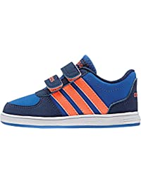 reputable site 04d2e 05817 adidas Kleinkinder Kinderschuh HOOPS VS CMF INF Turnschuh blau  orange