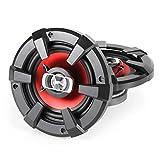 Auna CS-Red-6 Auto-Lautsprecher Klangstarke (16 cm (6 Zoll), Auto-Boxen mit 1200 Watt, Paar)