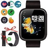Montre Connectée Fitness Trackers - Etanche Bluetooth Smartwatch avec Fréquence...