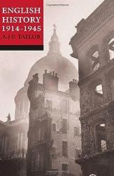 English History 1914-1945 (Oxford History of England)