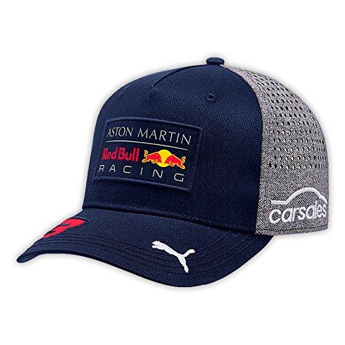 Red Bull Racing Erwachsene Red Bull AMR Ricciardo Baseball Cap 2018 Blue OneSize